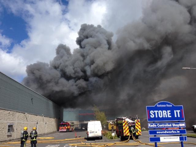 Ballymount Fire Photo