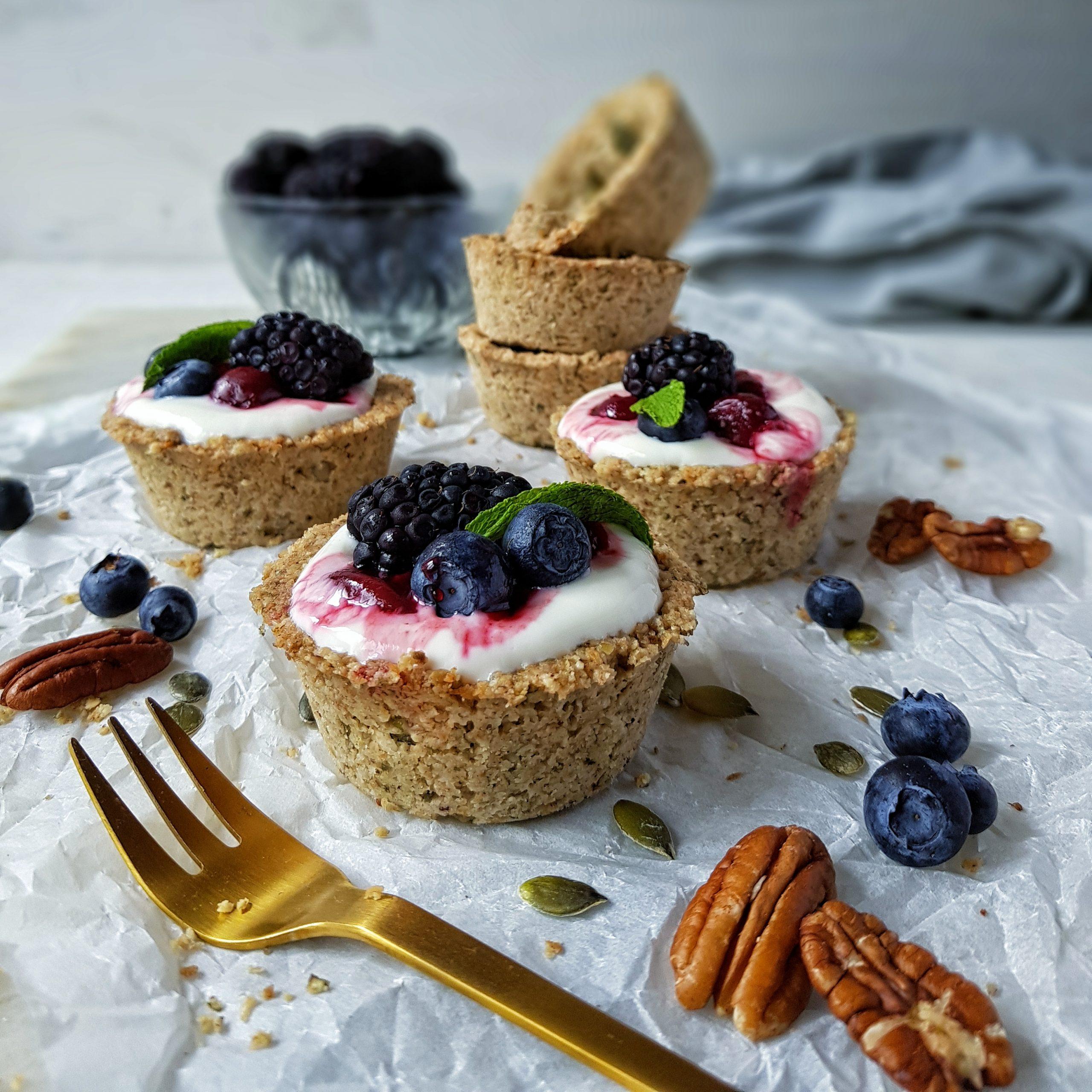 Healthy Granola Tarts